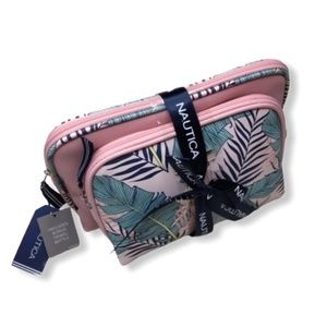 🎉HP🎉NWT Nautica Set Cosmetic Travel MakeUp Cases